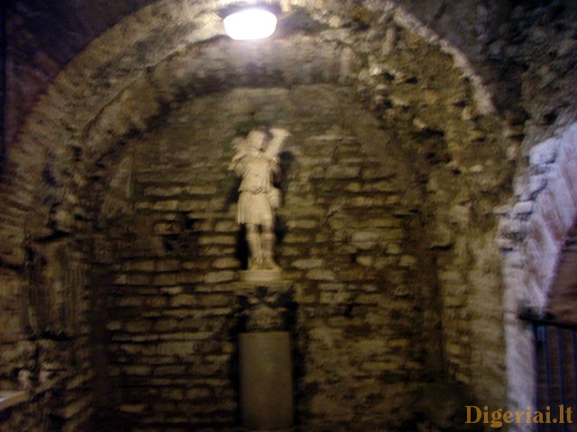Catacombs of San Callisto (Rome, Italy)