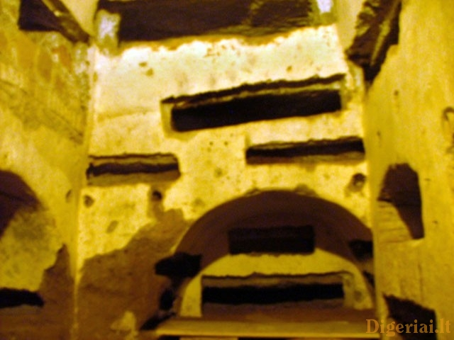 Catacombs of San Callisto (Rome, Italy)